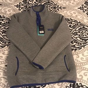 NWT! Simply Southern Grey and Blue Pullover